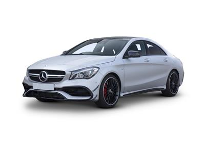MERCEDES-BENZ CLA CLASS AMG COUPE (2016) 4dr CLA 45 Night Edition Plus 4Matic 4dr Tip Auto