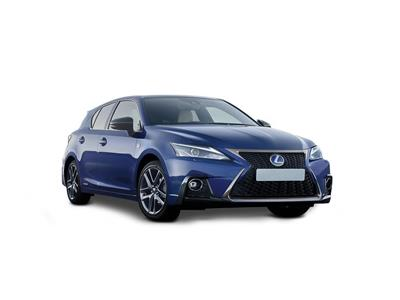 LEXUS CT HATCHBACK (2017) 5dr 200h 1.8 F-Sport 5dr CVT [Leather]