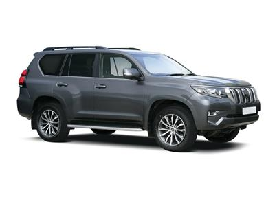 TOYOTA LAND CRUISER DIESEL SW 5dr 2.8 D-4D 204 Invincible 5dr Auto 7 Seats [Sunroof]