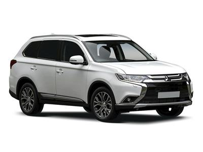 MITSUBISHI OUTLANDER ESTATE SPECIAL EDITIONS (2019) 5dr 2.0 Black 5dr CVT
