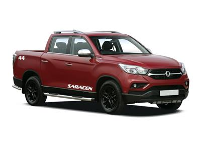 SSANGYONG MUSSO DIESEL (2018) dr Double Cab Pick Up Rebel 4dr AWD