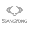 Ssangyong Logo Grey