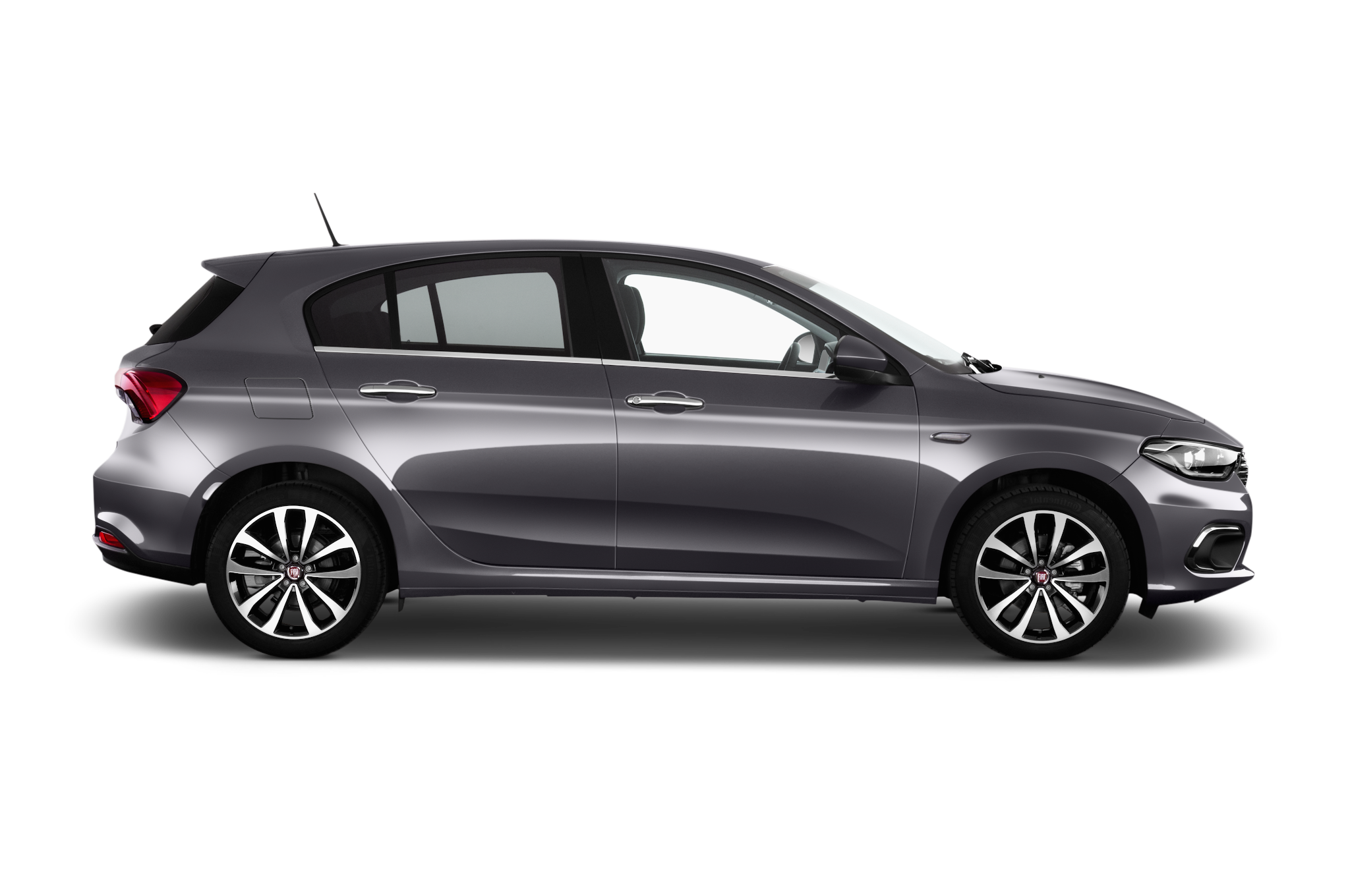 Fiat Tipo company car side view