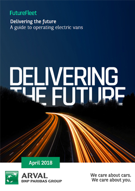 Our whitepaper 'Future Fleet: A Guide to operating electric vans' offer practical advice on electric vans for your fleet.