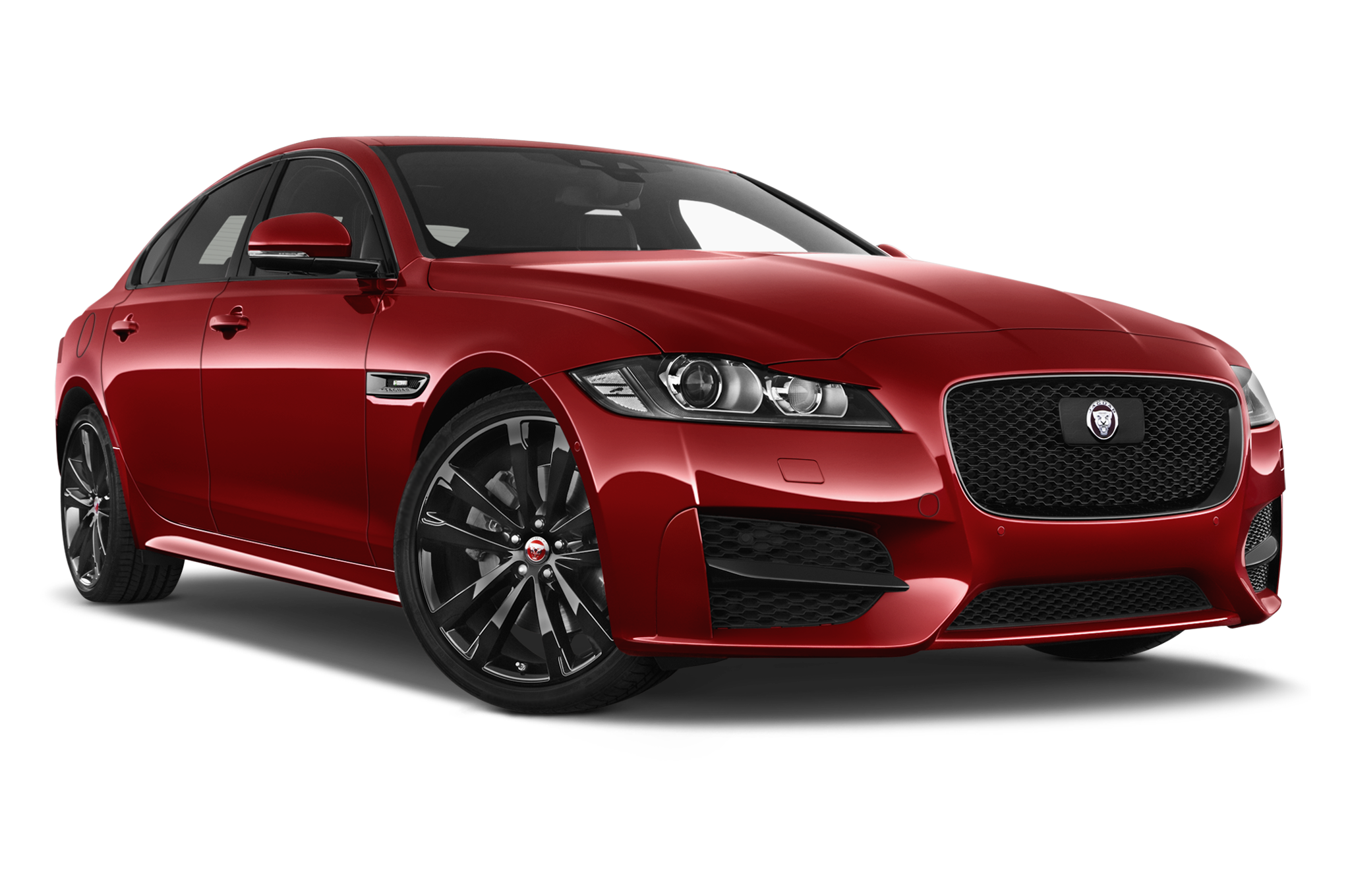 Jaguar XF company car front view