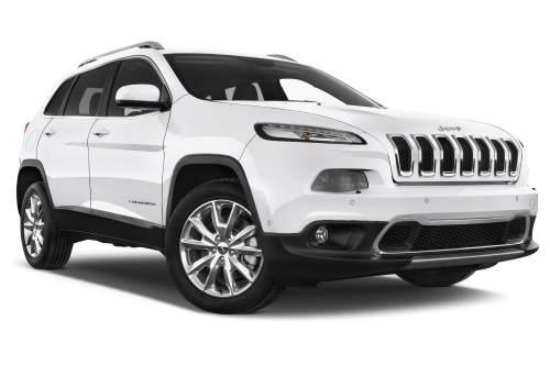 Jeep Cherokee company car front view