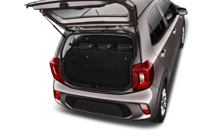 kia picanto company car boot space