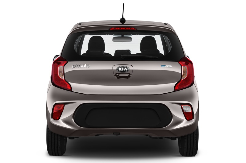 kia picanto company car rear view