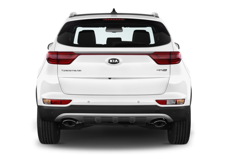 kia sportage company car rear view