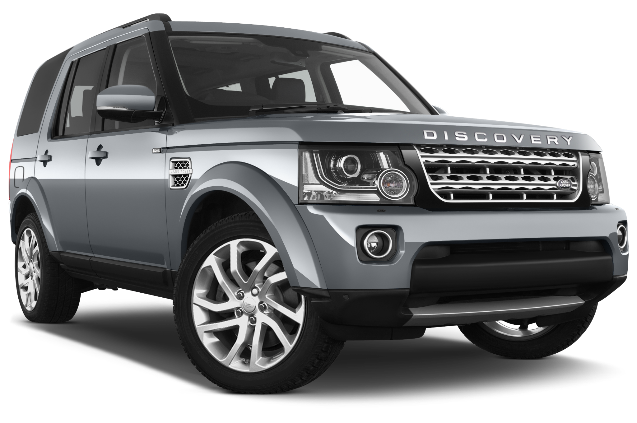 Land Rover Discovery front view