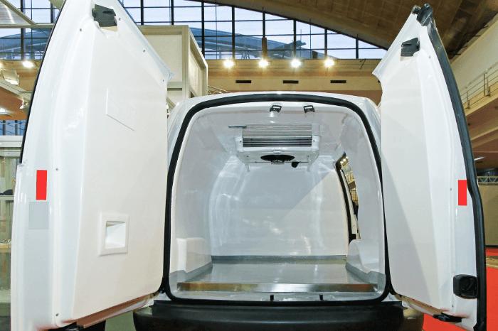 Refrigerated vans