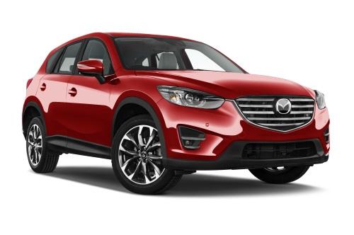 Mazda CX-5 company car front view