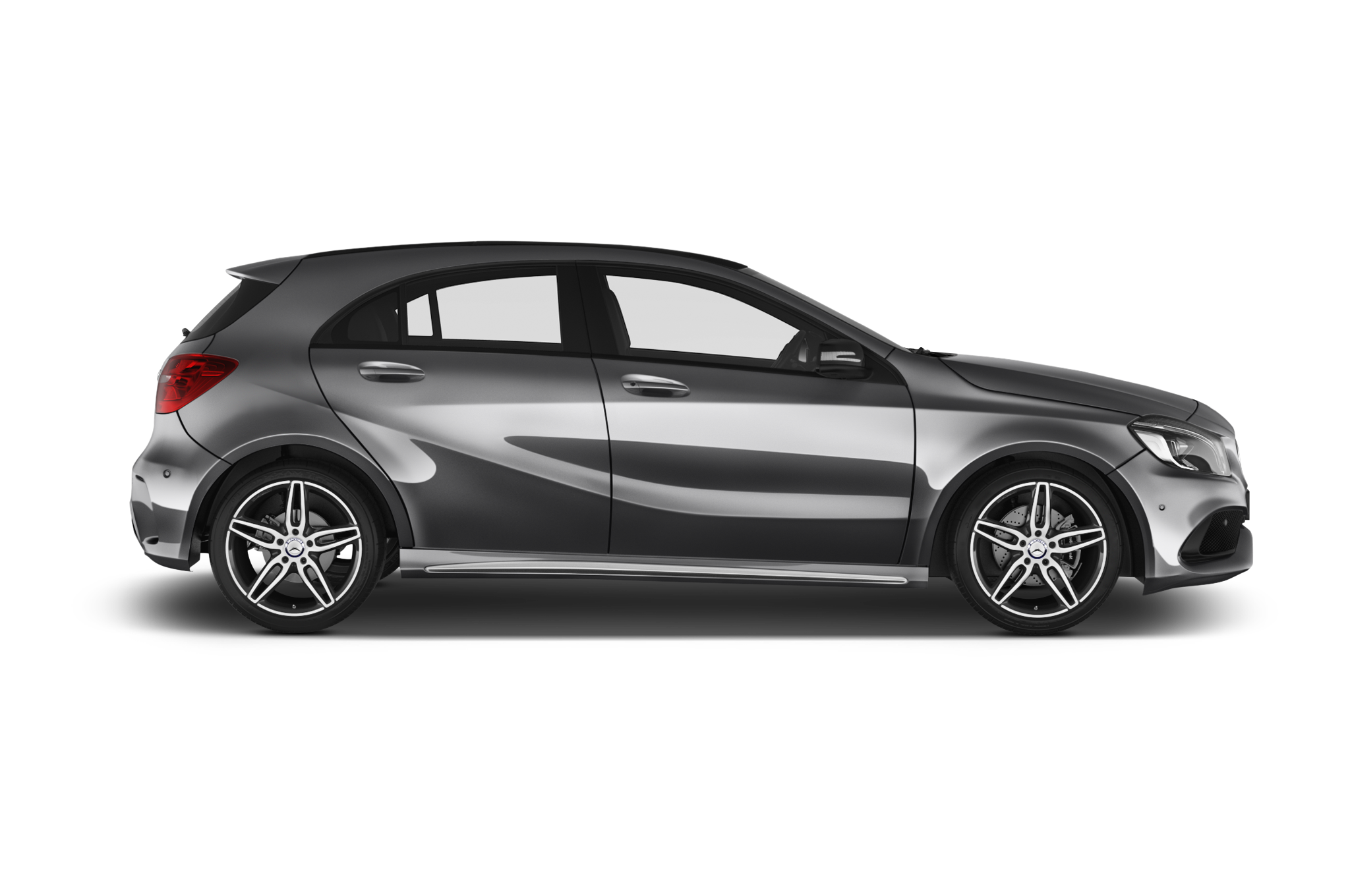 Mercedes-Benz A-Class company car side view