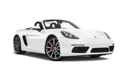 Porsche Boxster company car front view