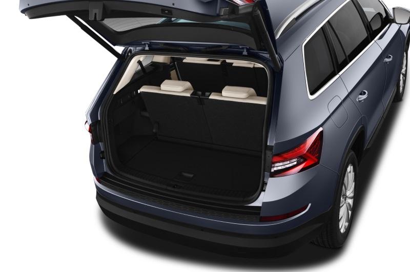 skoda kodiaq company car boot space