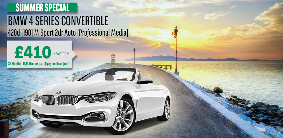 bmw 4 series covertible company car