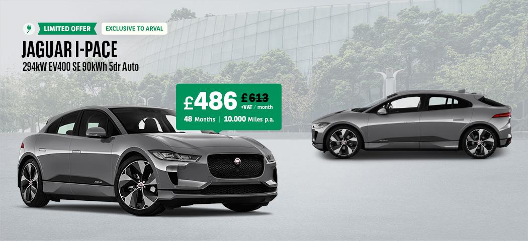 Jaguar I-PACE at £486/month +VAT