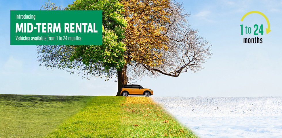 Arval Mid-Term Rental