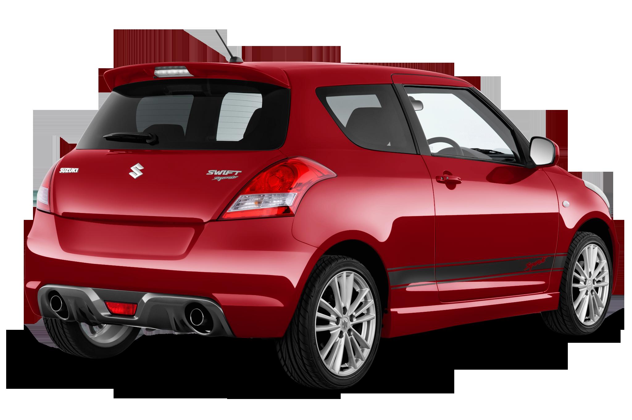 Suzuki Swift company car rear view