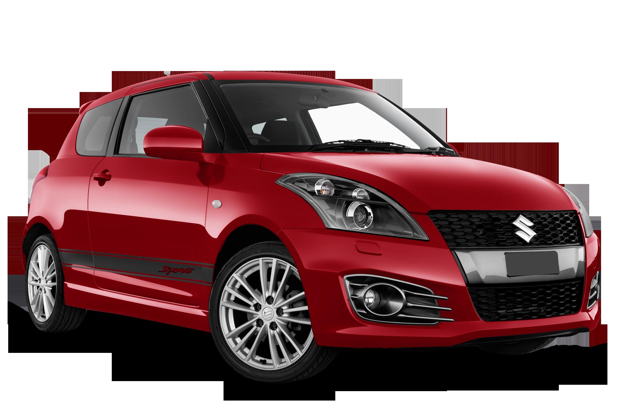 Suzuki Swift company car front view