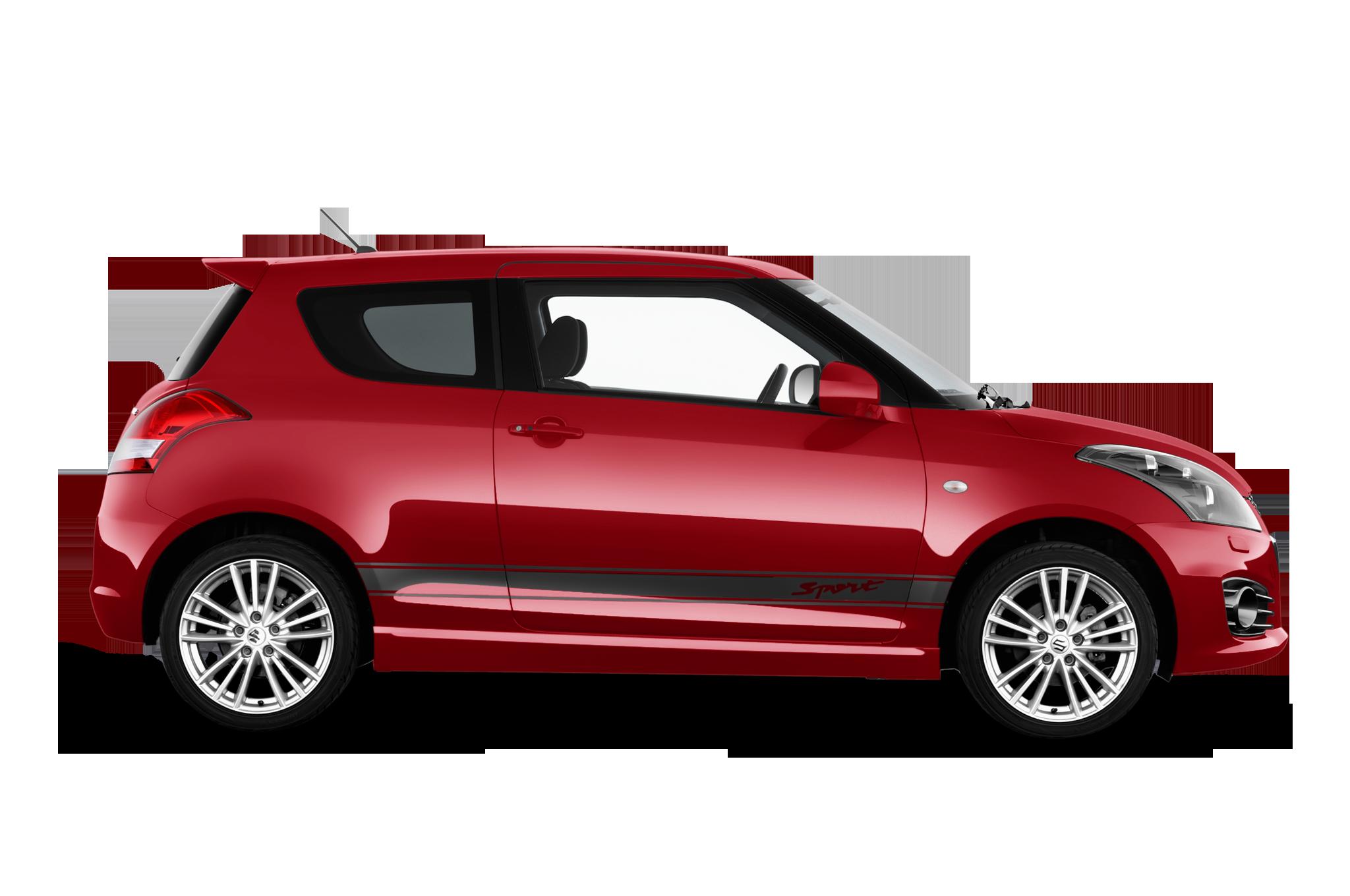 Suzuki Swift company car side view