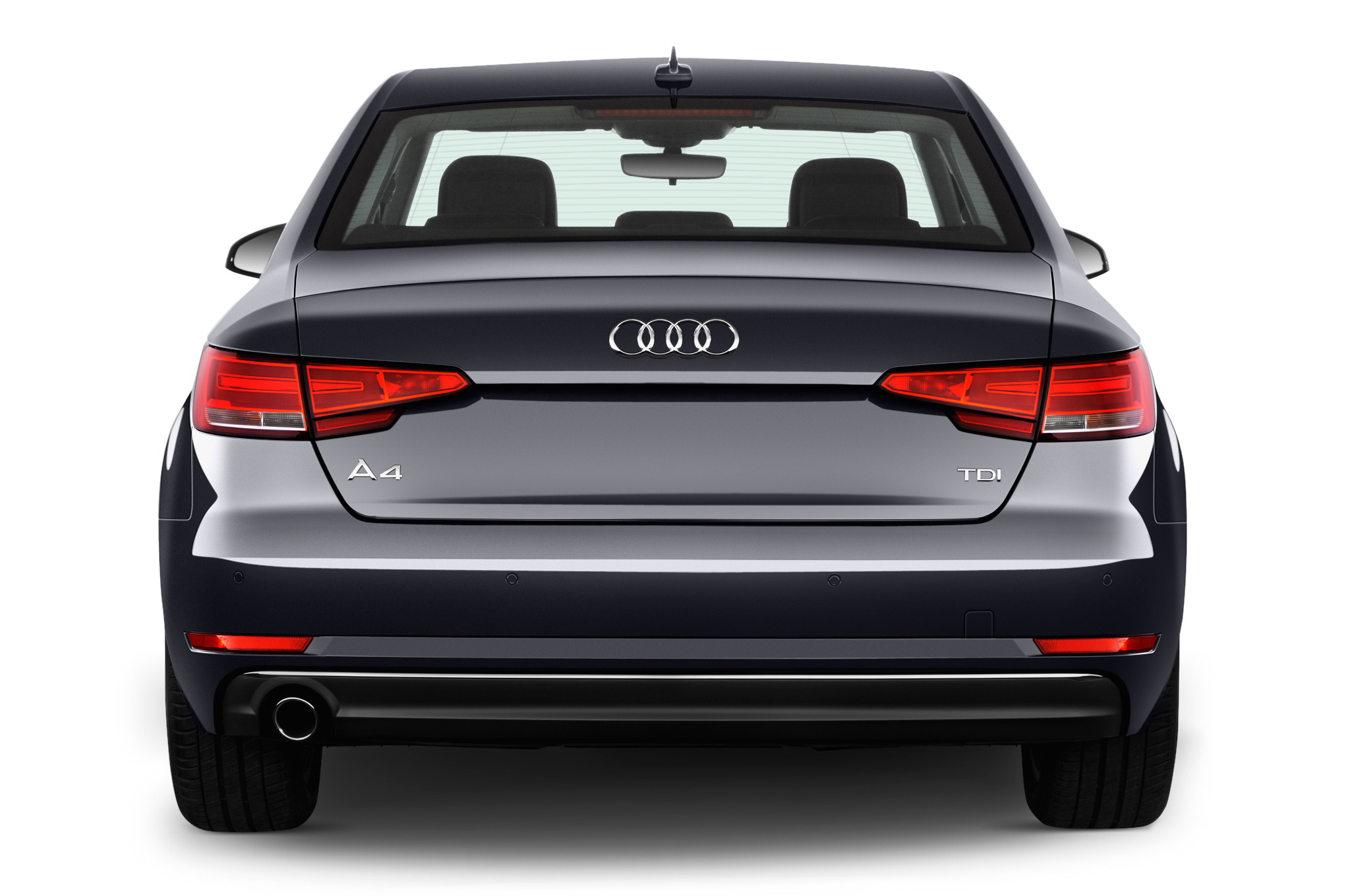 audi a4 saloon rear view