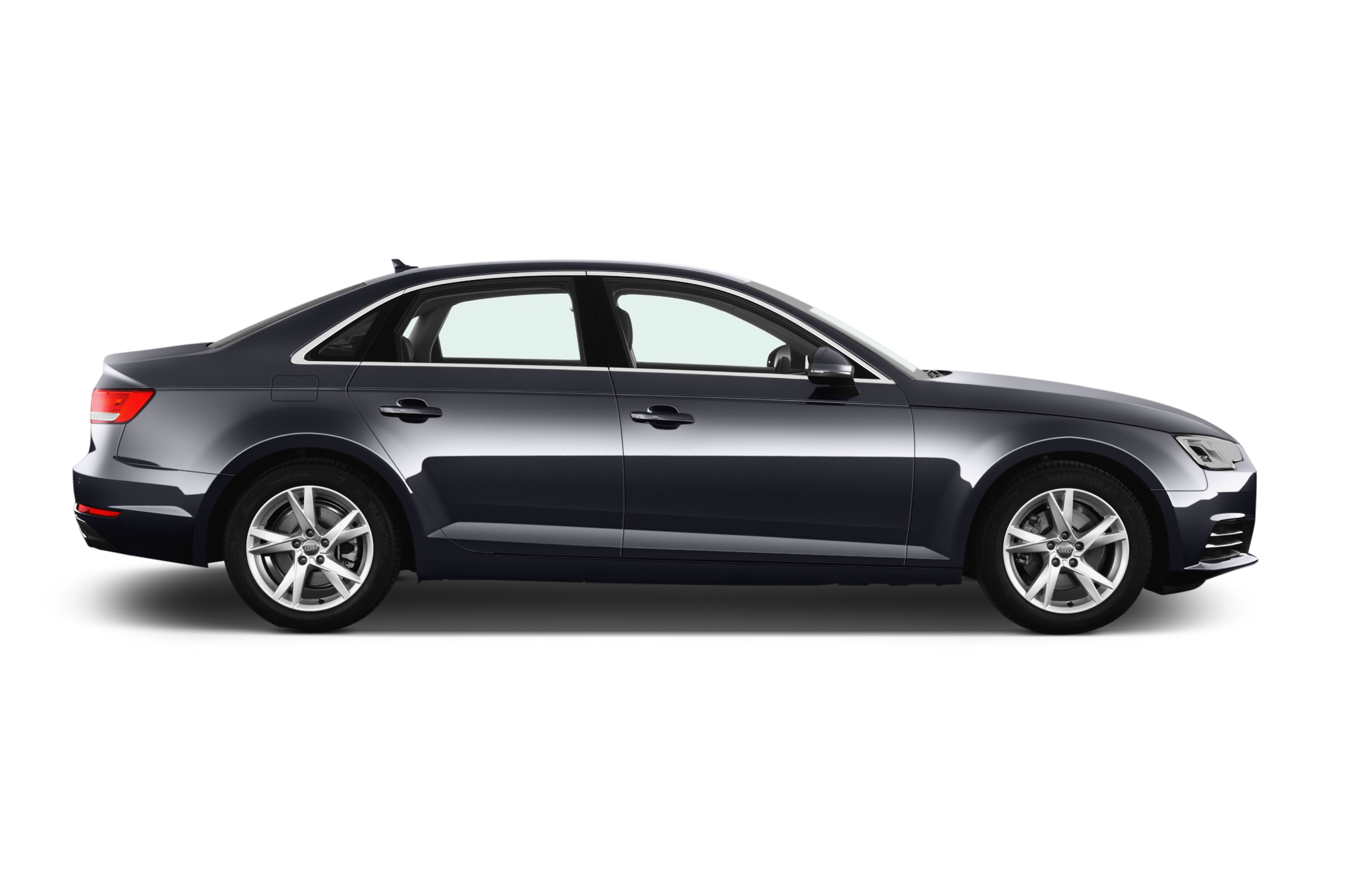 audi a 4 side view