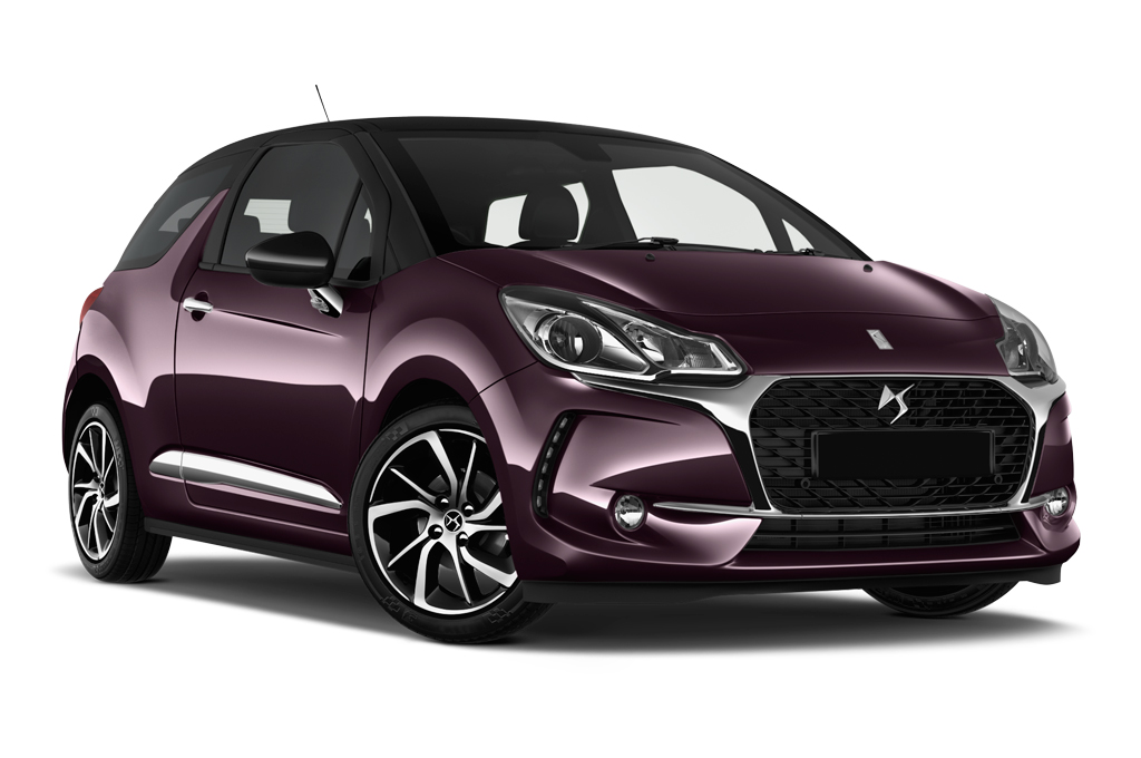 citroen ds3 front angle