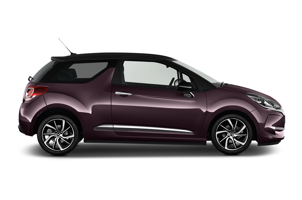 citroen ds3 side view