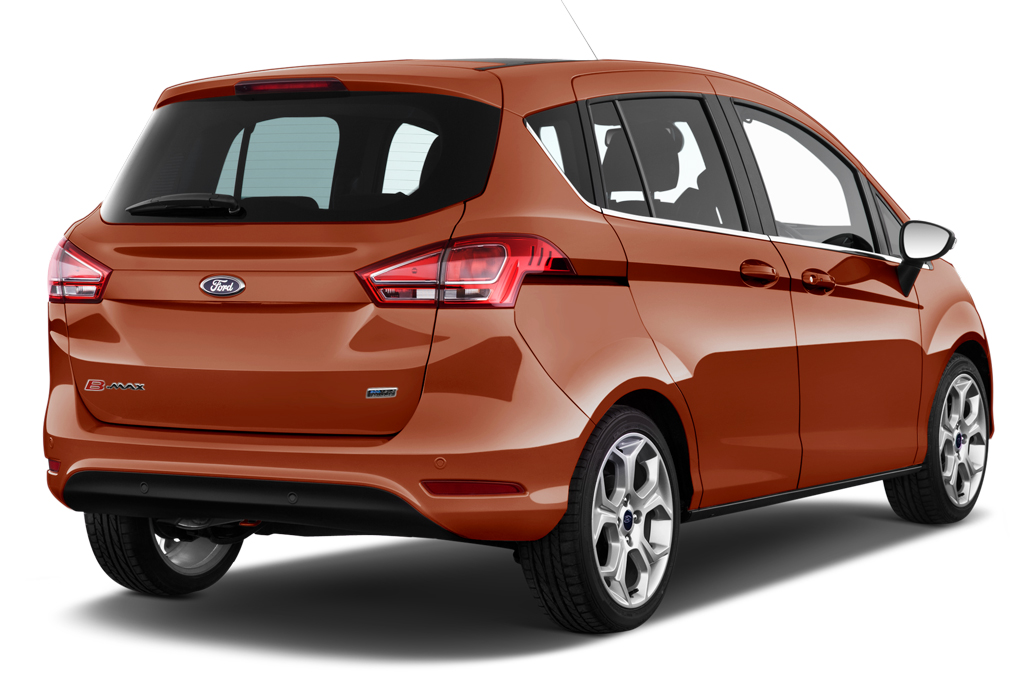 ford bmax rear angle view