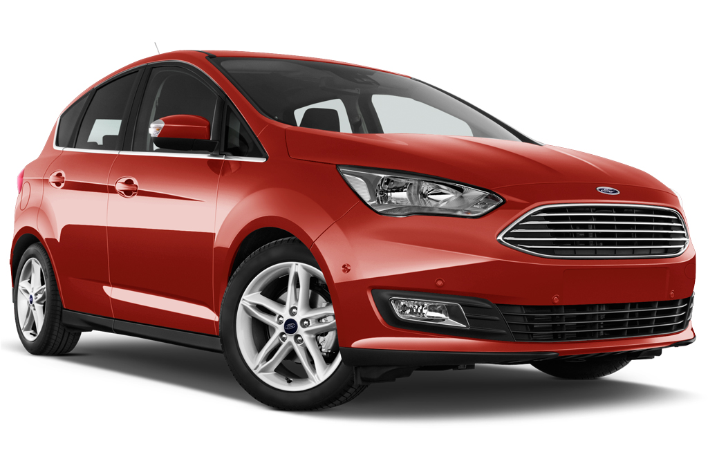 Ford CMAX front angle view