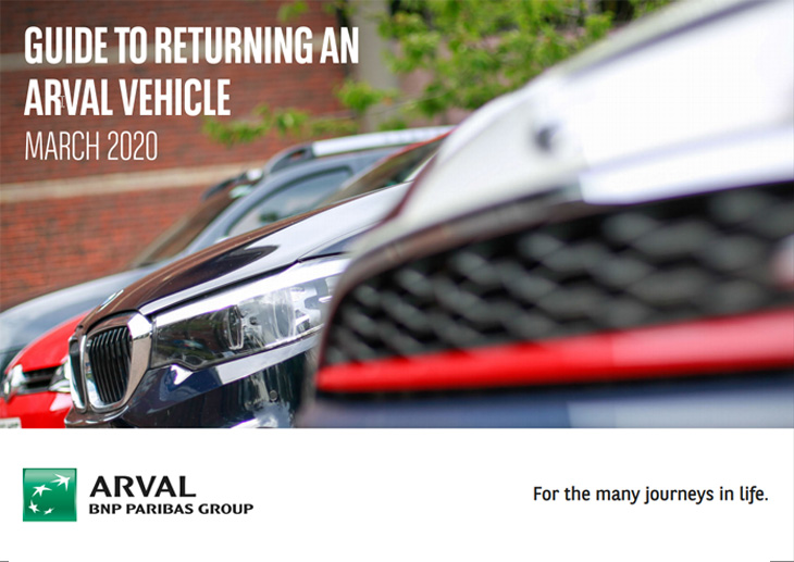 Guide to return an Arval vehicle