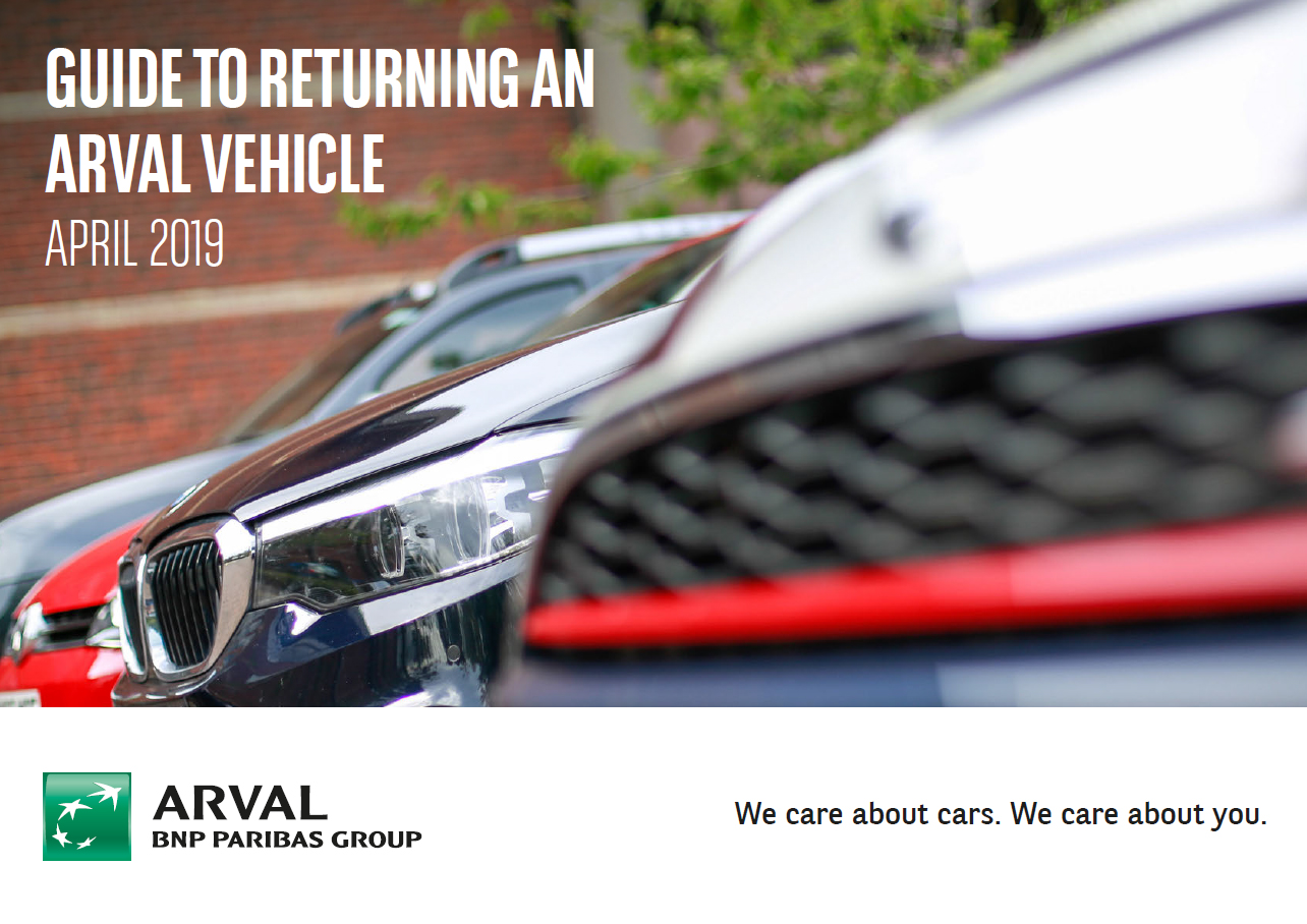 Guide to Returning your Vehicle | Arval Vehicle Leasing