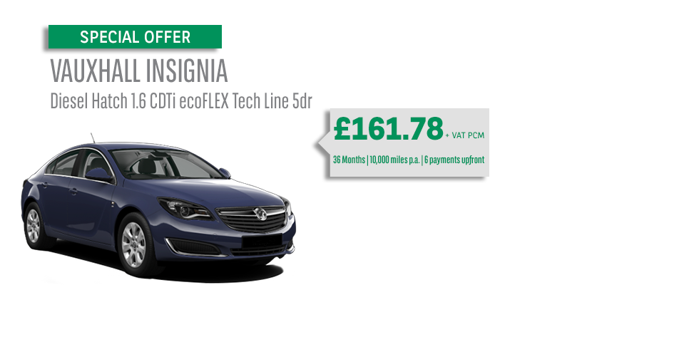 vauxhall insignia offer