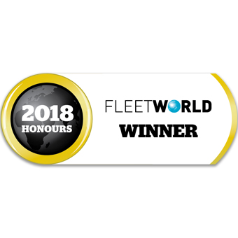 Innovation in Accident Management 2018 Fleet World Honours Logo