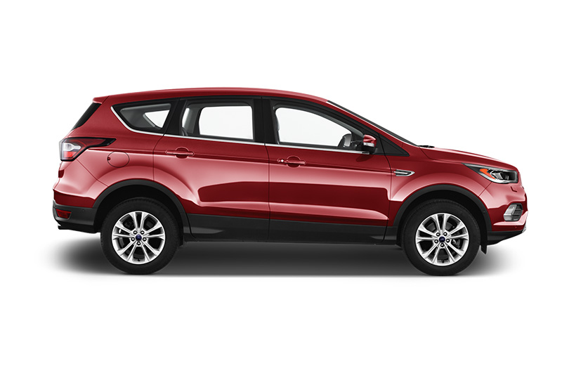 ford kuga side view red