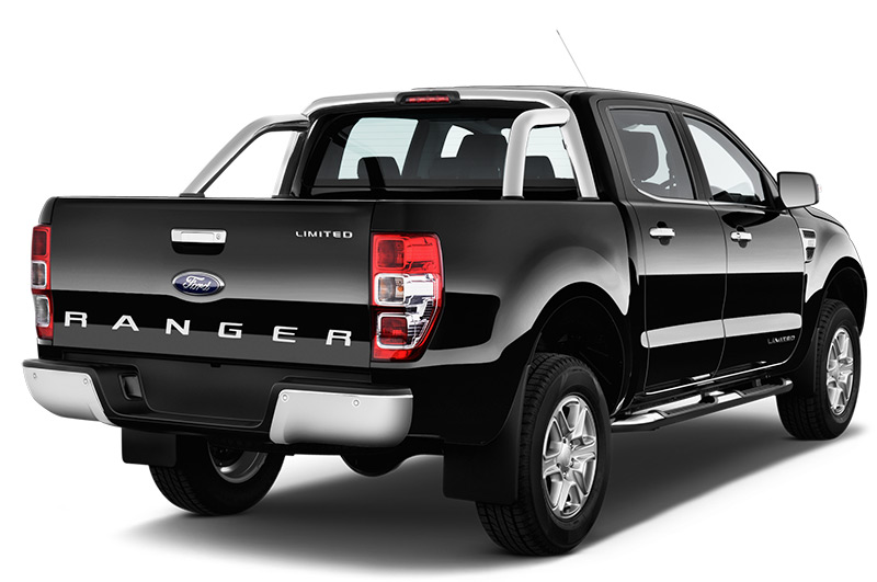 Ford Ranger - Rear Angle