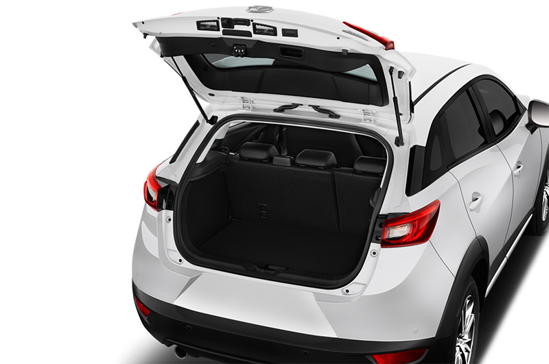 mazda cx-3 boot space