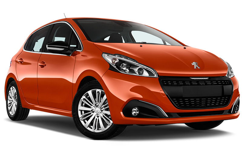 peugeot 208 front angle