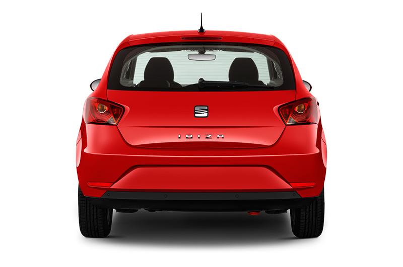 seat ibiza rear red