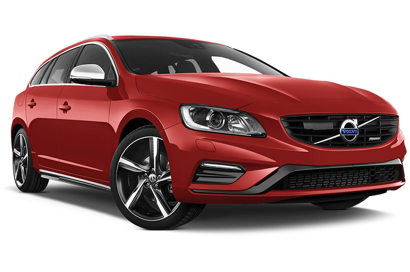 volvo v60 front angle