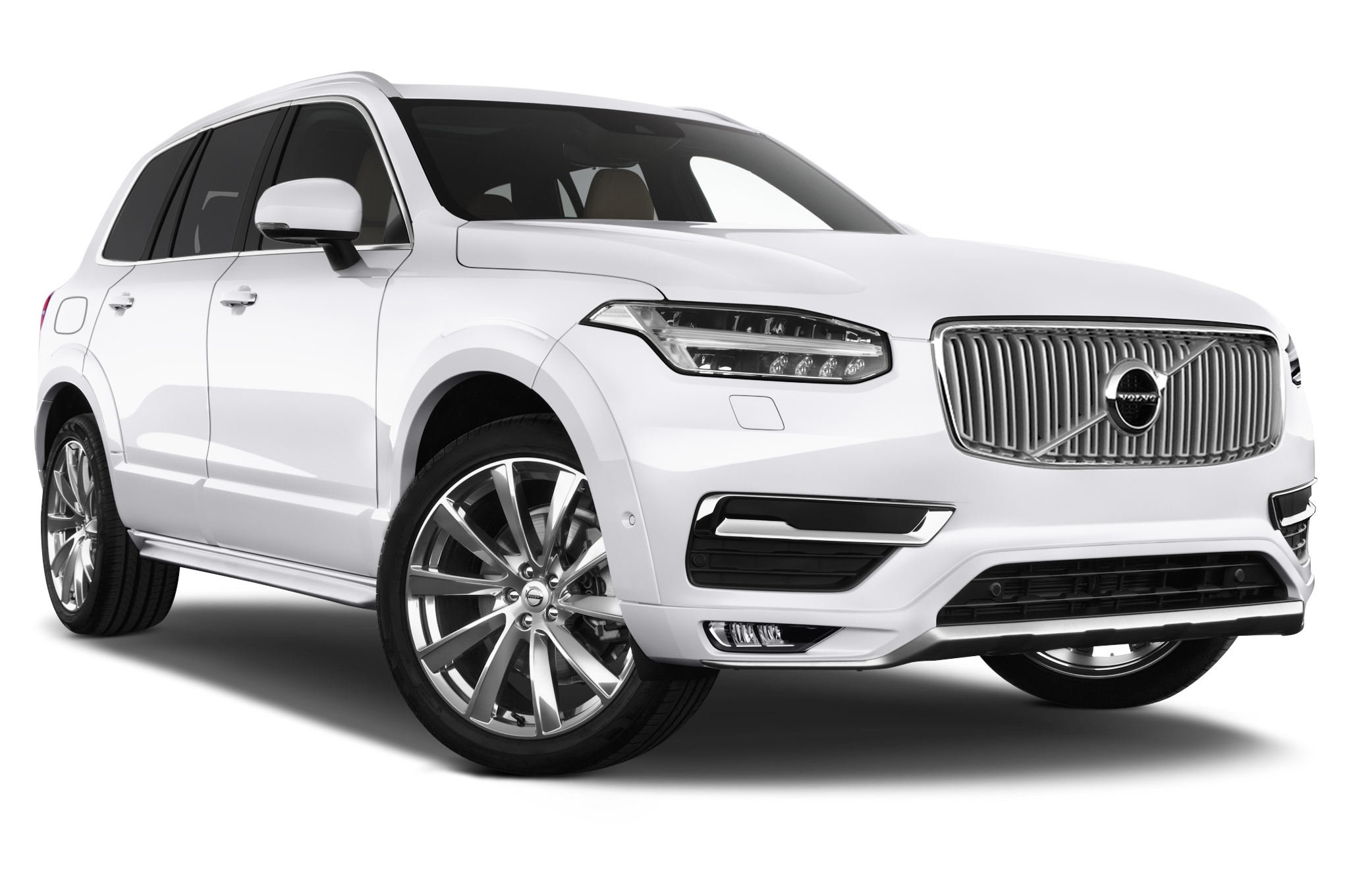 Volvo XC90 company car front view