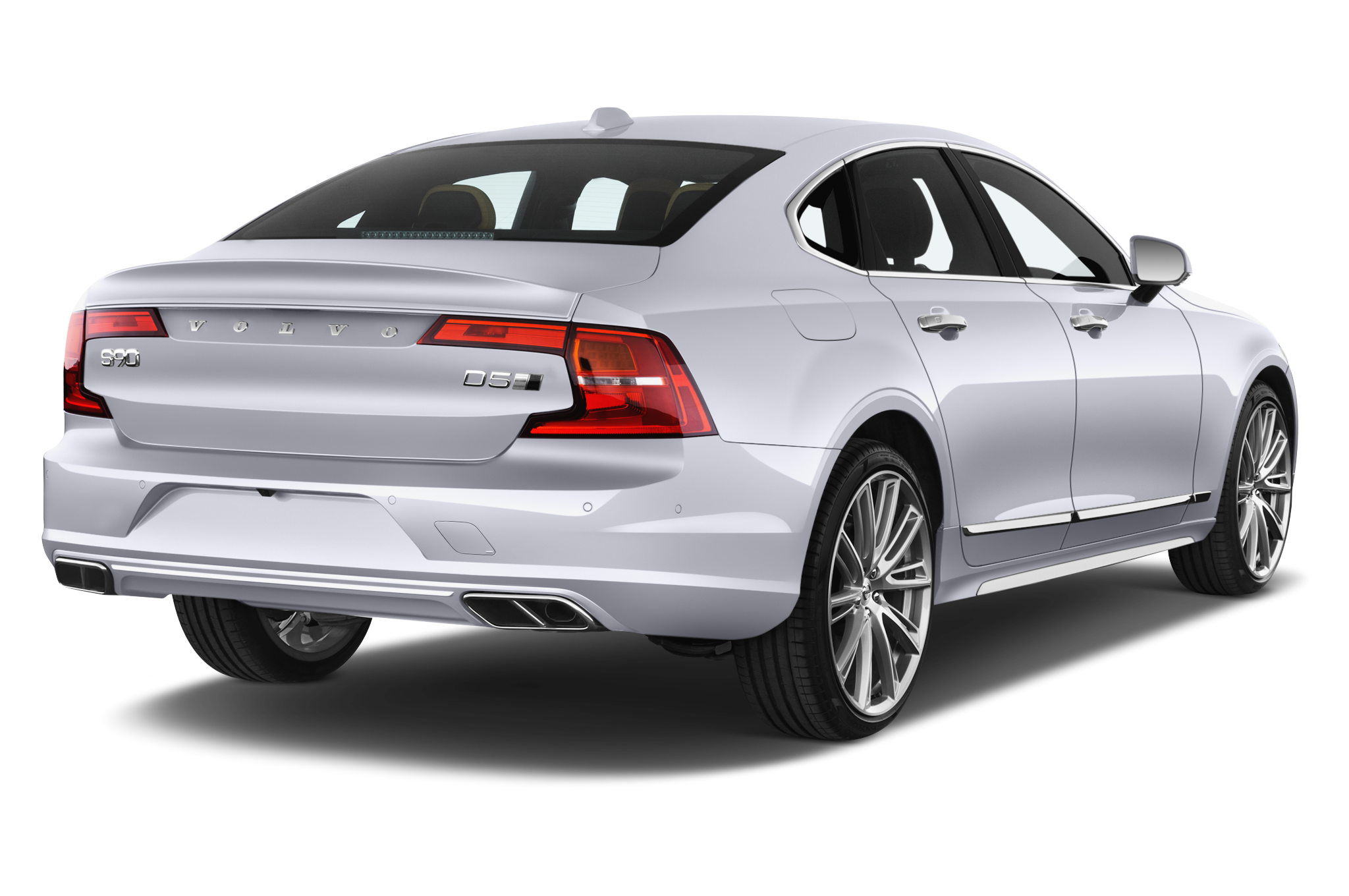 Volvo S90 company car side rear view