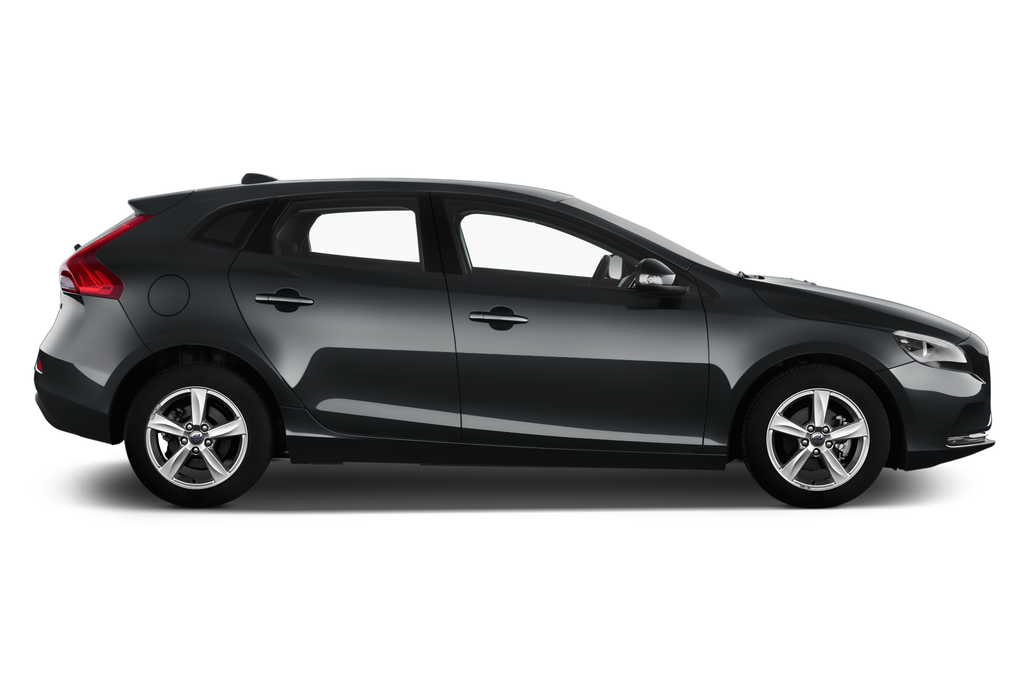 Volvo V40 company car side view