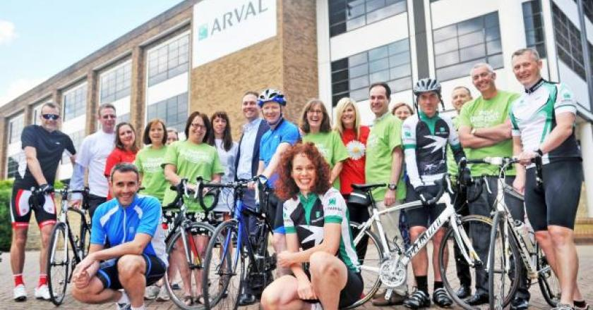 Colleagues set to cycle from Swindon to France for charity fund